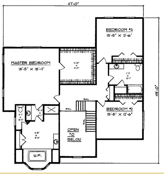 Vandenburg  floor plan