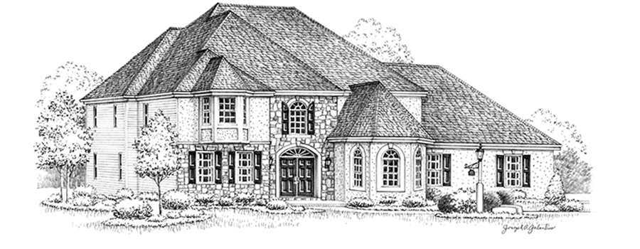 Vandenburg House Sketch