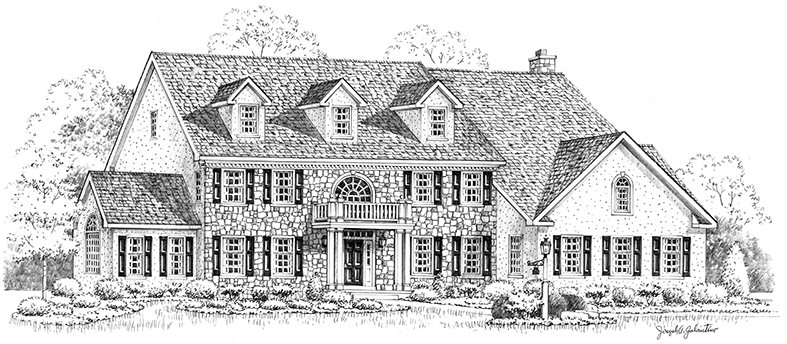 Dynasty House Sketch