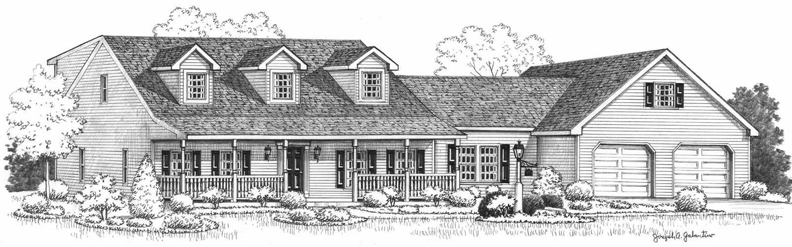 Ridgeway Option II sketch