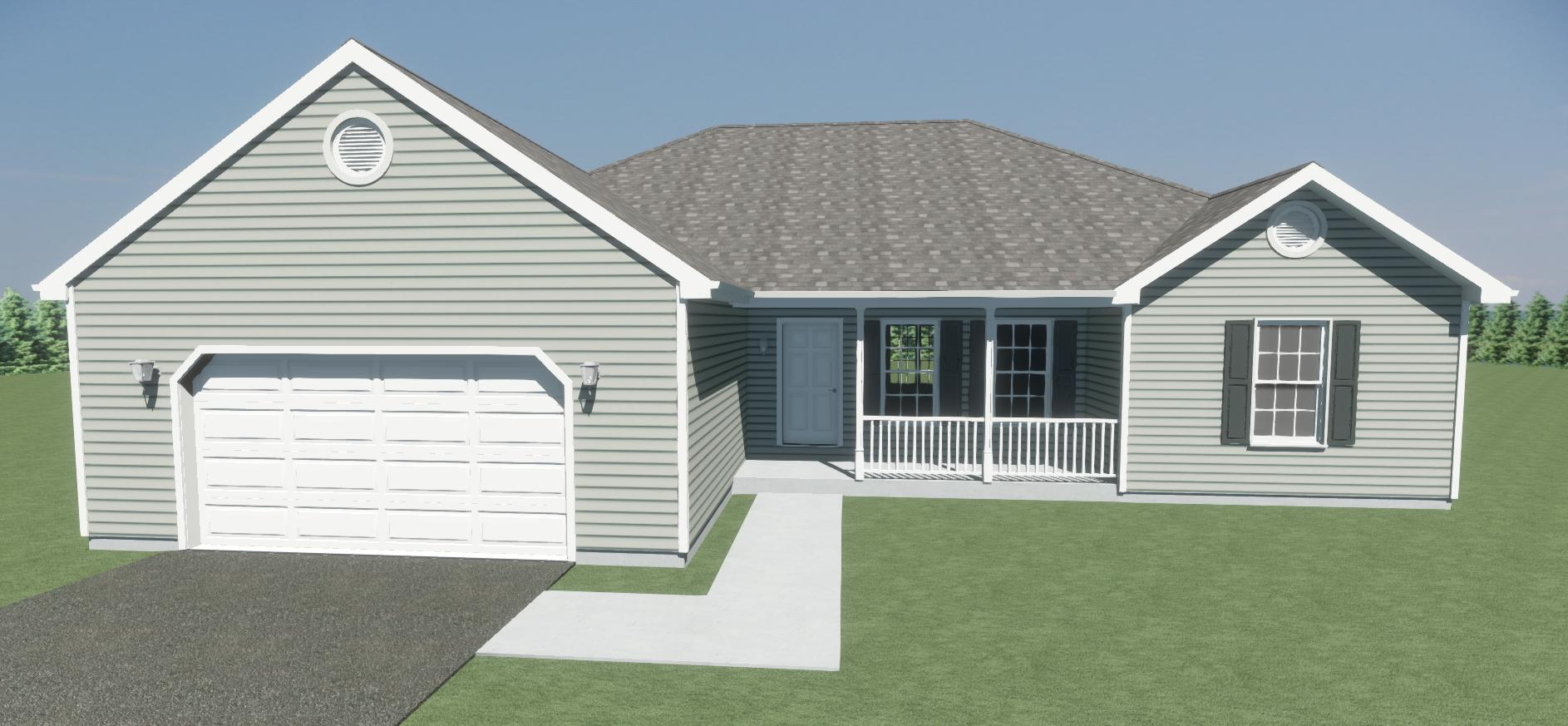 Rancher Yes - 3 Rooms - 2 Bathrooms -