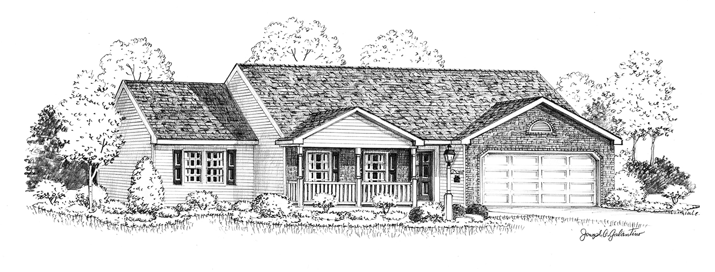 Rancher Yes - 3 Rooms - 2 Bathrooms -- 1632