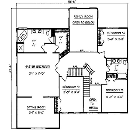 4 Rooms Rooms,2.5 BathroomsBathrooms,Two - Story,1009