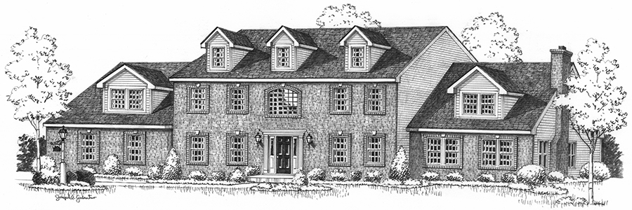 Breckenridge House Sketch