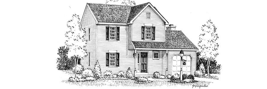 Chesterbrook House Sketch