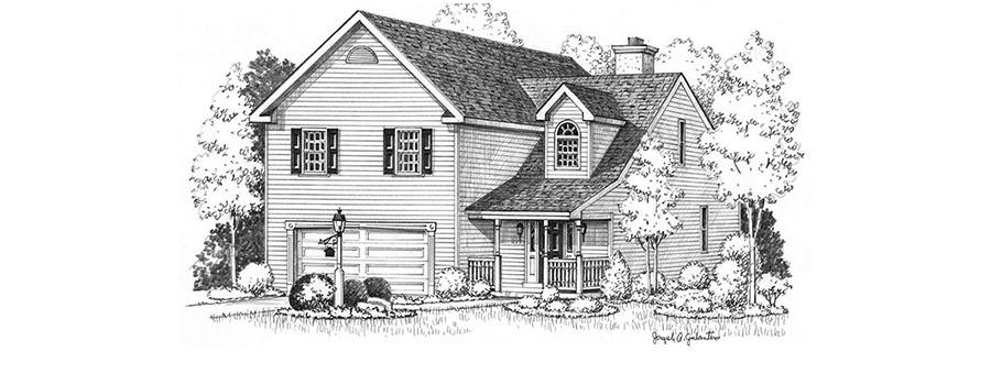Staunton House Sketch