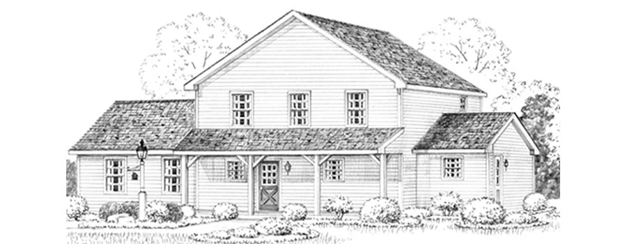 Homestead House Sketch