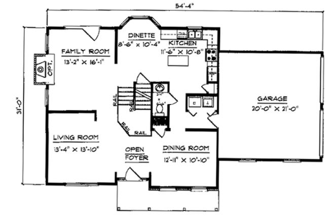 Stafford floor plan