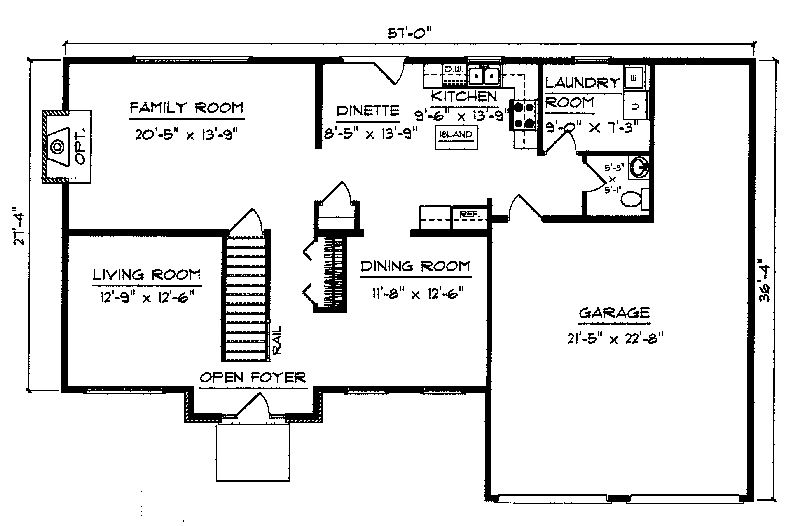 Nottingham II floorplan